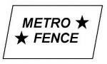 150 Metro Fence 2012 Logo