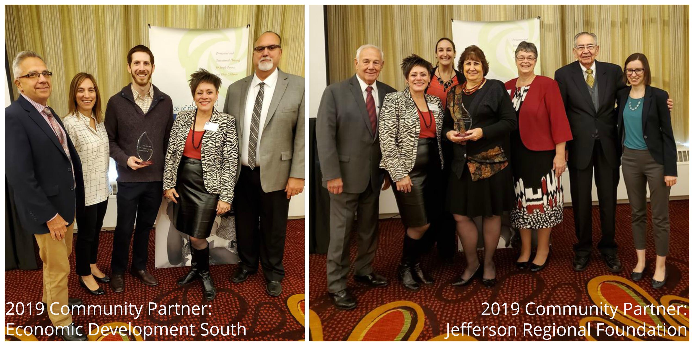 2019 community partners - Economic Development South and Jefferson Regional Foundation
